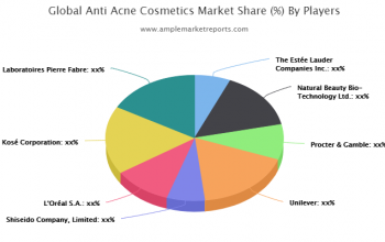 Anti Acne Cosmetics market Competition, by Players